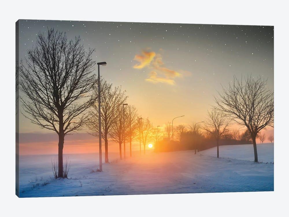 New Year, New Hopes by Ben Heine 1-piece Canvas Print