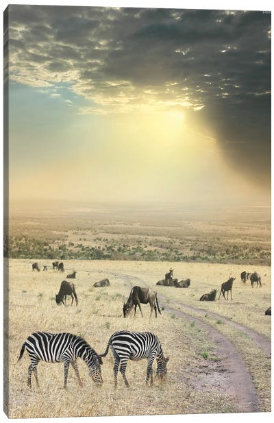 Once Upon A Time In Kenya VI Canvas Art Print