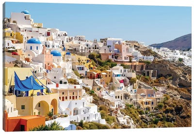 Santorini II Canvas Art Print