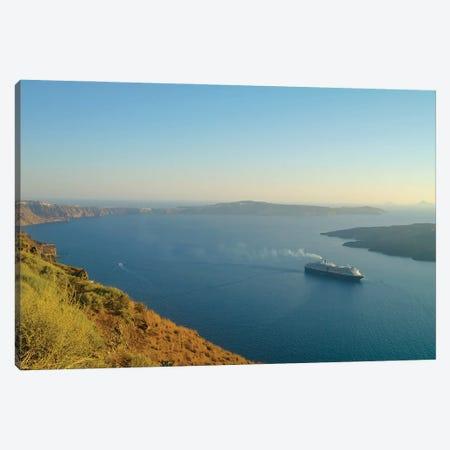 Santorini VIII Canvas Print #BHE311} by Ben Heine Canvas Art Print