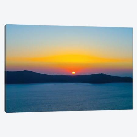 Santorini IX Canvas Print #BHE312} by Ben Heine Canvas Print