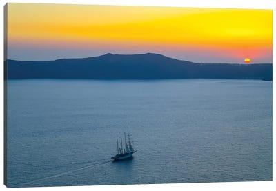 Santorini X Canvas Art Print