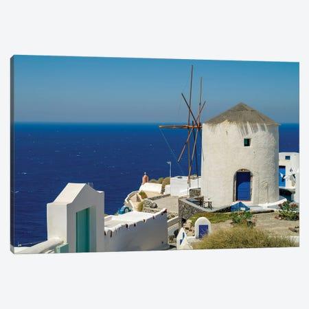 Santorini XI Canvas Print #BHE314} by Ben Heine Canvas Art