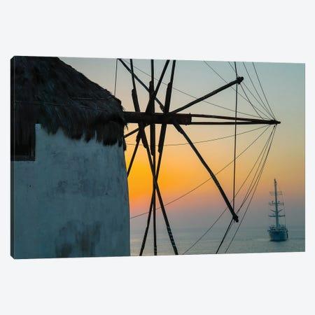 Santorini XIII Canvas Print #BHE316} by Ben Heine Canvas Artwork