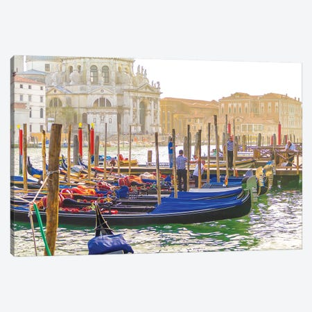 Venice XI 3-Piece Canvas #BHE350} by Ben Heine Canvas Art Print