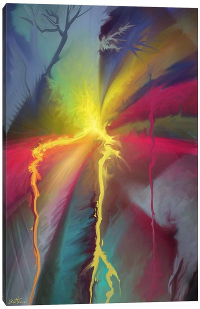 Pure Abstract I Canvas Print #BHE38