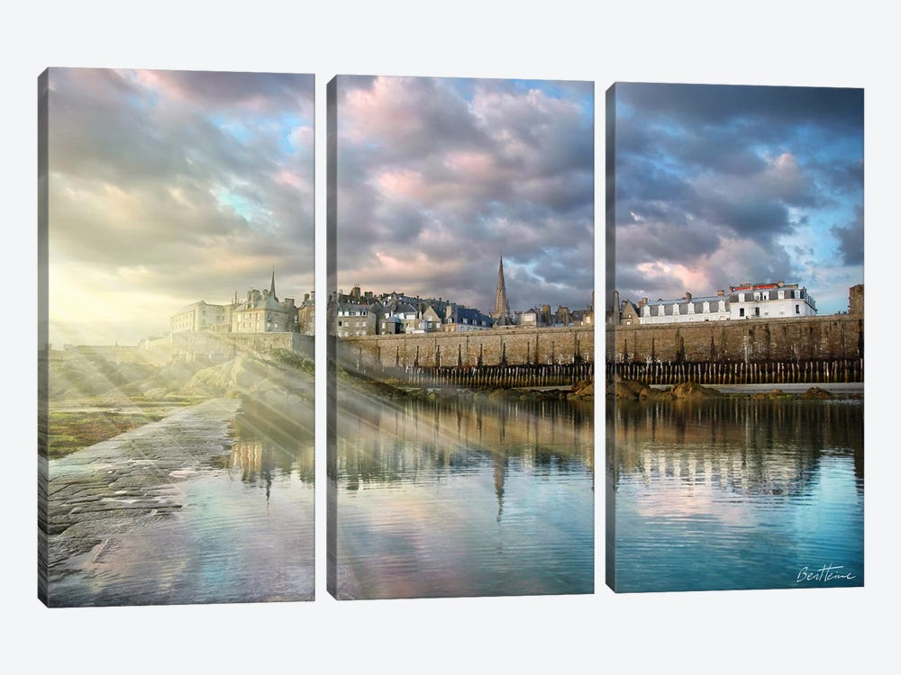 I See Light 3-piece Canvas Wall Art