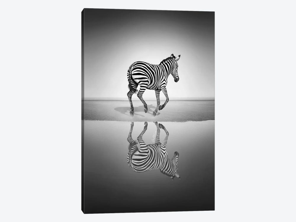 Sea Of Freedom by Ben Heine 1-piece Canvas Art Print