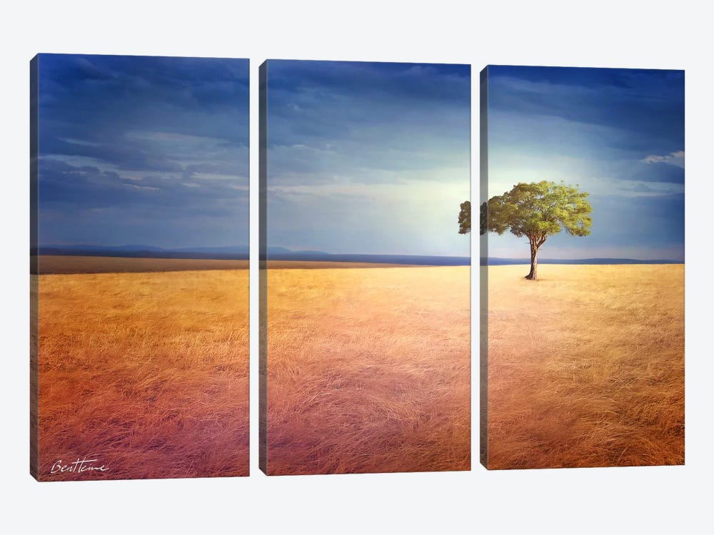 Spirit of the Earth 3-piece Canvas Wall Art