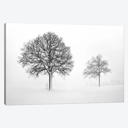 We Live And Die Together Canvas Print #BHE45} by Ben Heine Canvas Wall Art