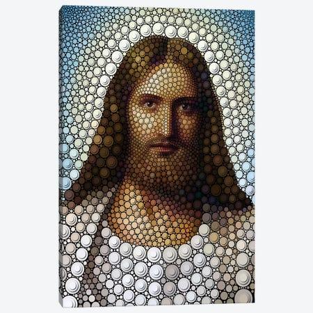 Jesus Canvas Print #BHE46} by Ben Heine Canvas Wall Art