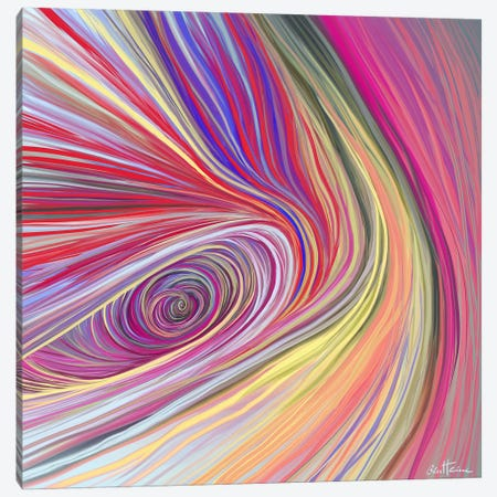 Pure Abstract III Canvas Print #BHE52} by Ben Heine Canvas Art