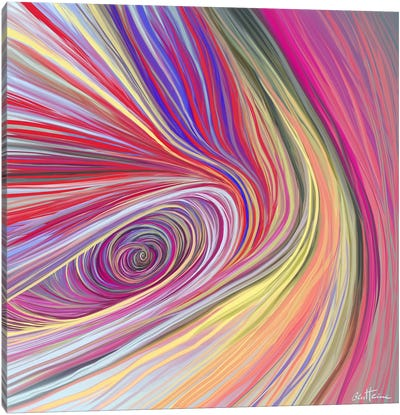 Pure Abstract III Canvas Art Print