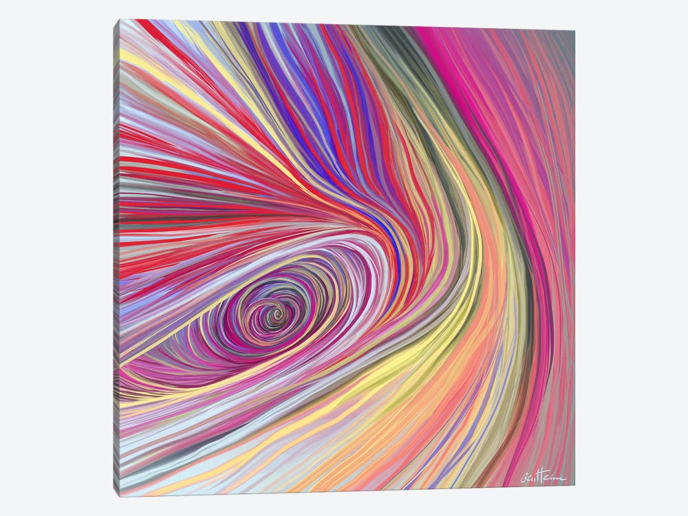 Pure Abstract III 1-piece Canvas Artwork