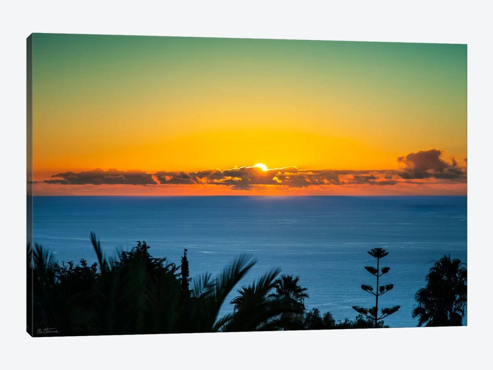 Sunset Tenerife 1-piece Canvas Print