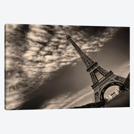 Eiffel Tower Canvas Print #BHE67} by Ben Heine Canvas Artwork