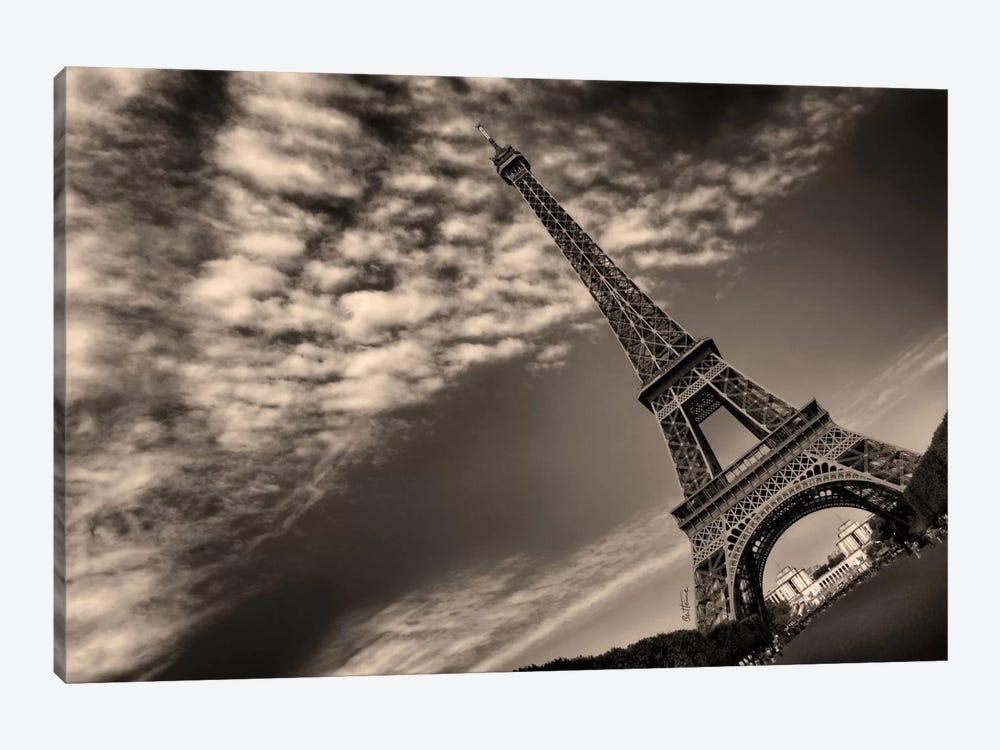 Eiffel Tower by Ben Heine 1-piece Canvas Art