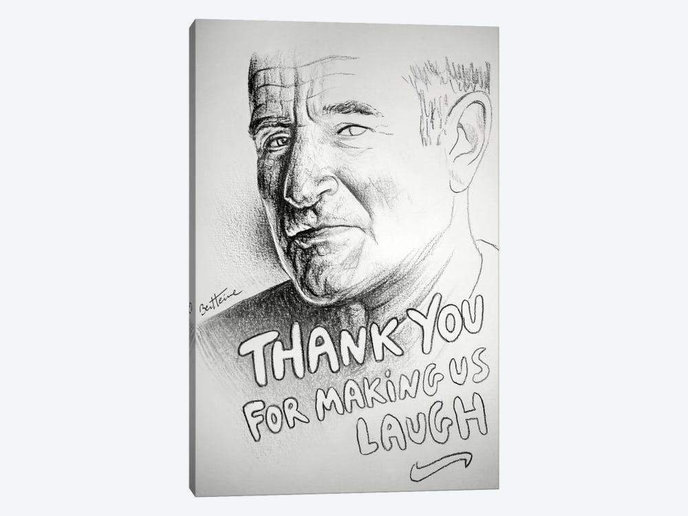 Robin Williams (RIP) by Ben Heine 1-piece Canvas Art