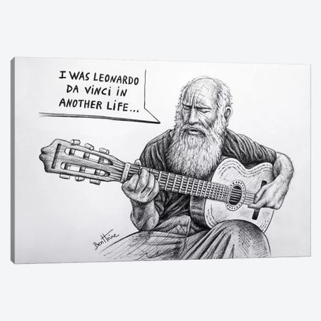 Somebody Else Canvas Print #BHE73} by Ben Heine Canvas Artwork