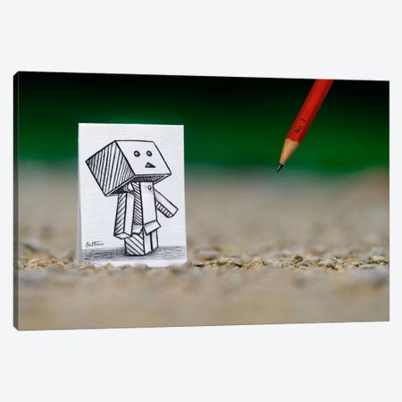 Pencil vs. Camera - 38 Canvas Print #BHE78} by Ben Heine Canvas Artwork