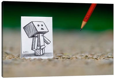 Pencil vs. Camera - 38 Canvas Art Print