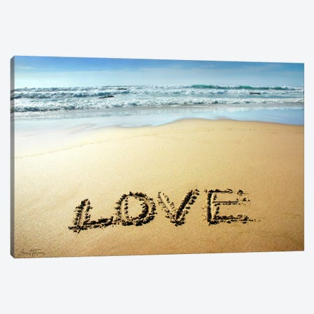 Love Canvas Print #BHE7} by Ben Heine Canvas Art
