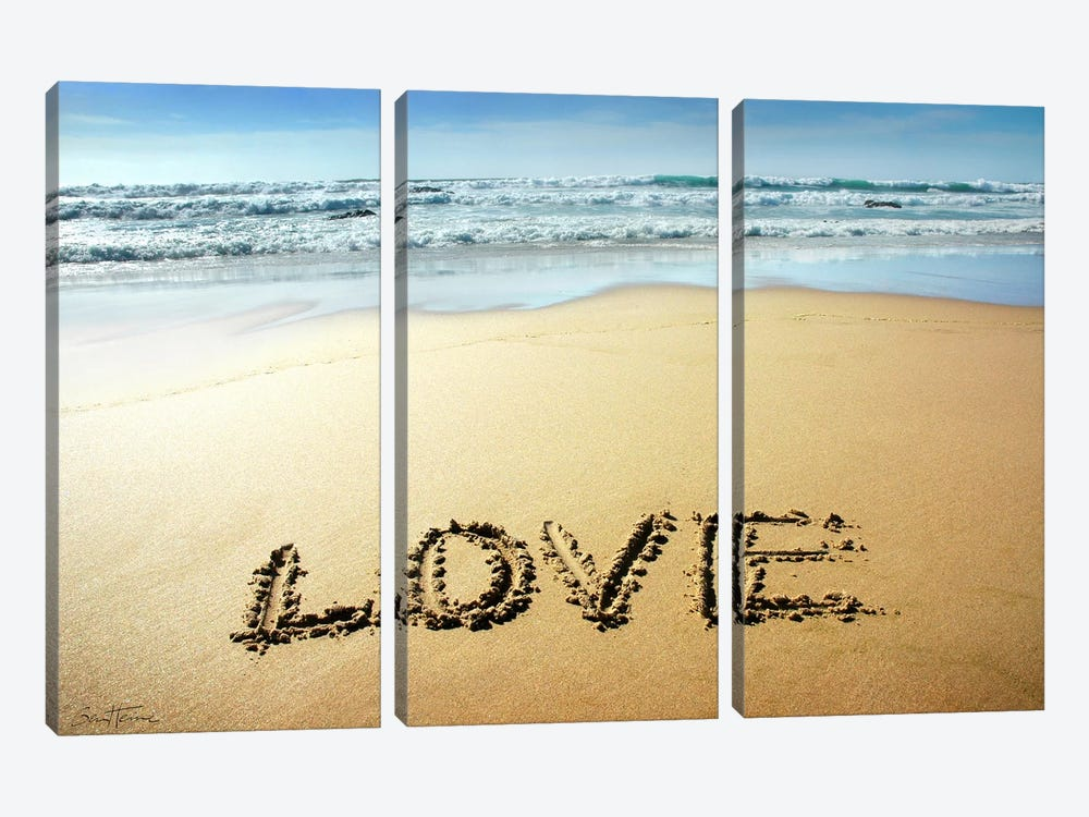 Love by Ben Heine 3-piece Canvas Artwork