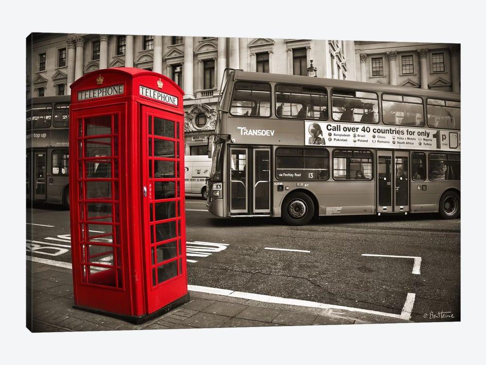 London Telephone by Ben Heine 1-piece Canvas Print