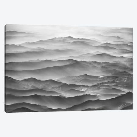 Ocean Mountains Canvas Print #BHE86} by Ben Heine Canvas Art