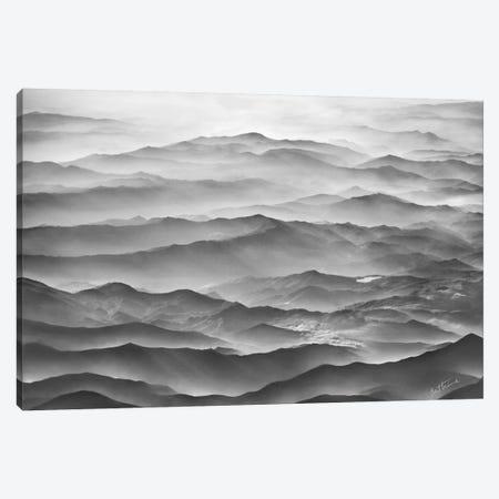 Ocean Mountains Canvas Print #BHE86} by Ben Heine Canvas Art