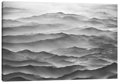 Ocean Mountains Canvas Art Print