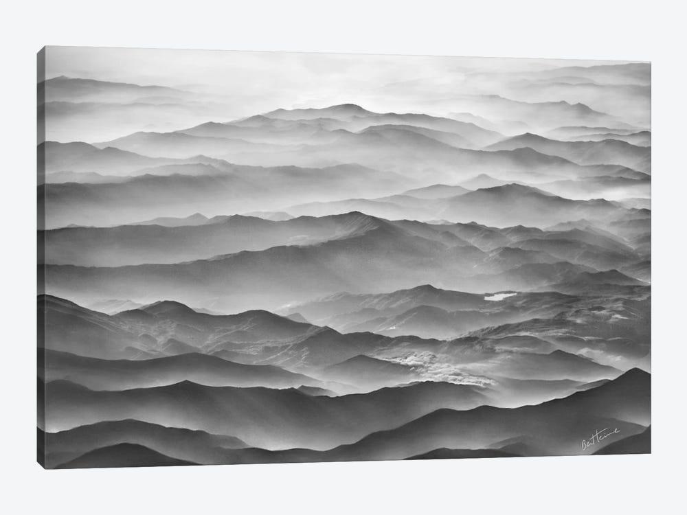 Ocean Mountains by Ben Heine 1-piece Canvas Art Print