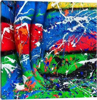 Life Is Like A Canvas Canvas Art Print
