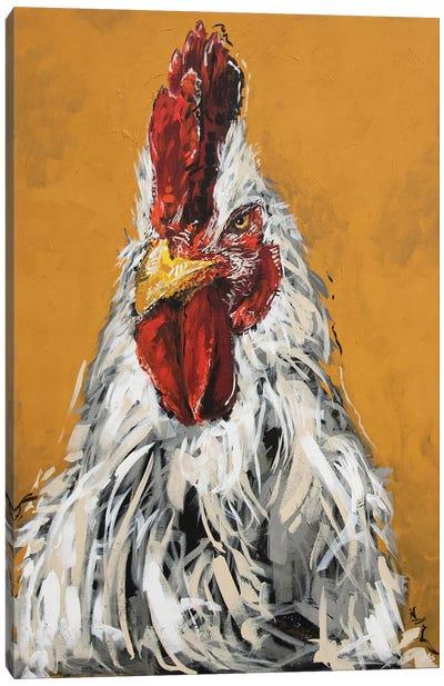 Gary The Chicken Canvas Art Print