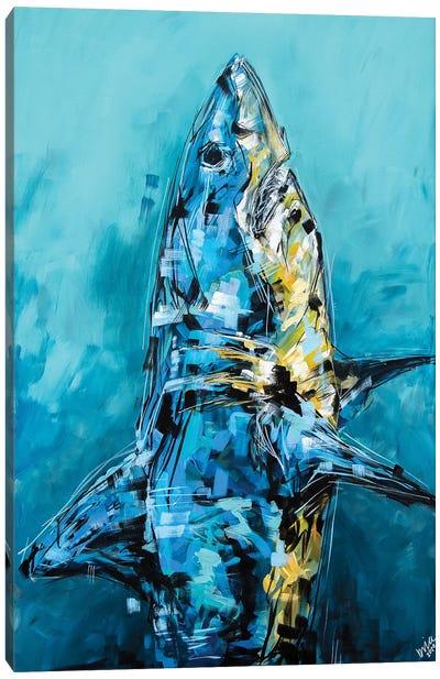 Bruce The Shark Canvas Art Print