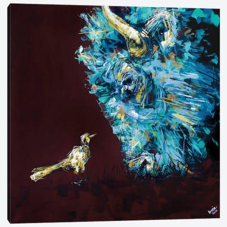 Chuck + Maude Canvas Print #BHM13} by Bria Hammock Canvas Artwork