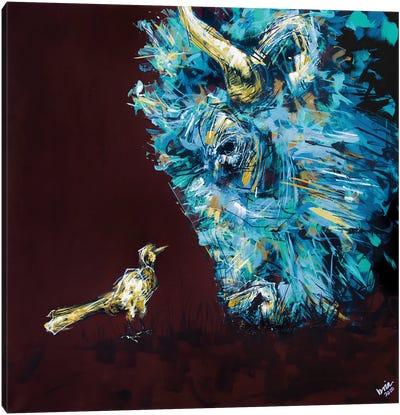 Chuck + Maude Canvas Art Print
