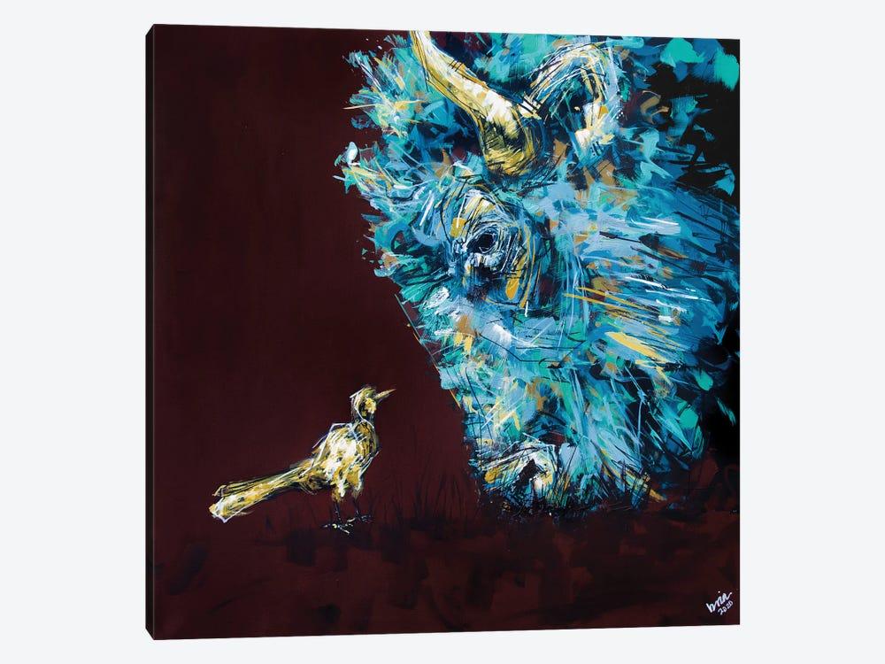 Chuck + Maude by Bria Hammock 1-piece Canvas Artwork