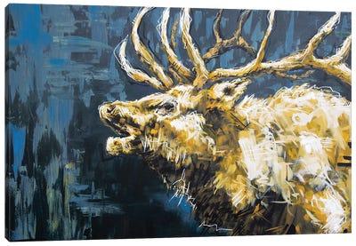 Walter The Elk Canvas Art Print