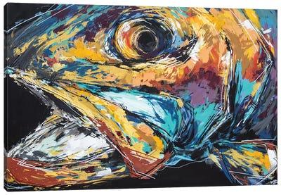 Mac The Rainbow Trout Canvas Art Print
