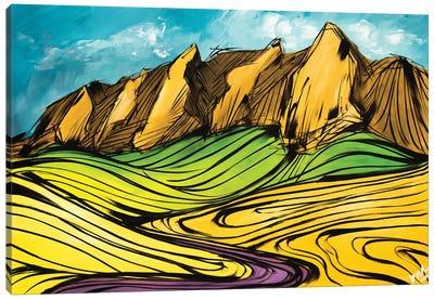 The Colorado Flatirons Canvas Art Print