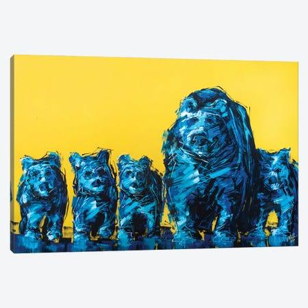 399 + Cubbies Canvas Print #BHM1} by Bria Hammock Art Print