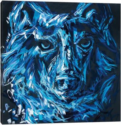 John The Wolf Canvas Art Print
