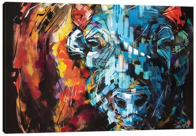 Linda The Bison Canvas Art Print