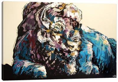 Lisa The Bison Canvas Art Print