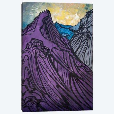 Longs Peak, Colorado Canvas Print #BHM27} by Bria Hammock Canvas Art