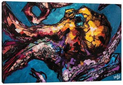 Milicent The Octopus Canvas Art Print