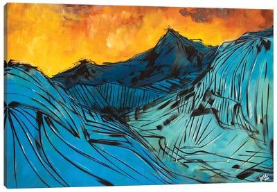 The Rocky Mountains Canvas Art Print