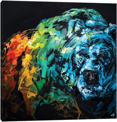 Sam The Bear Canvas Art Print