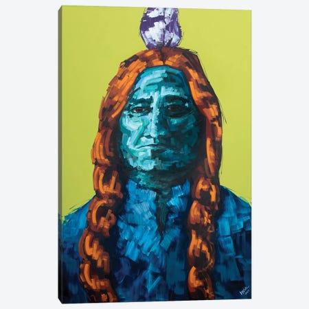 Sitting Bull Canvas Print #BHM38} by Bria Hammock Canvas Art